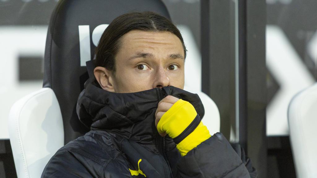 Nico Schulz saß beim BVB in der vergangenen Saison oft auf der Bank
