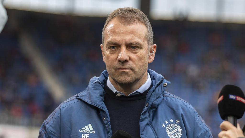 Hansi Flick reist mit dem FC Bayern nach Hoffenheim