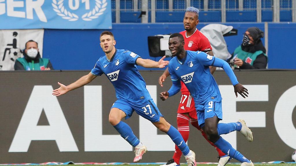 Andrej Kramaric (l.) erzielte gegen den FC Bayern zwei Tore