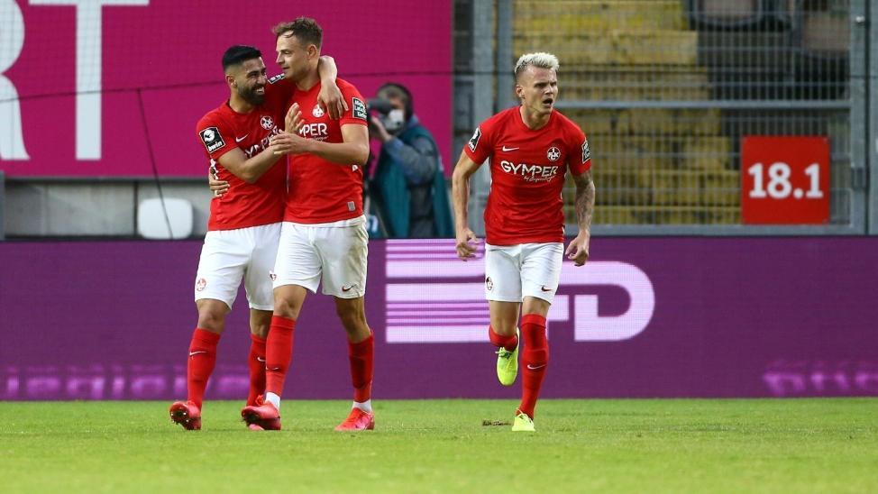Kaiserslautern setzt Trainingsbetrieb fort