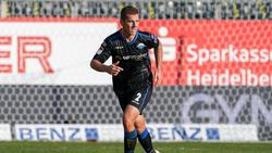 Uwe Hünemeier erzielte für den SC Paderborn zwei Tore mit dem Kopf