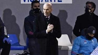 Bitteres Pokal-Aus für Real Madrid und Zinédine Zidane