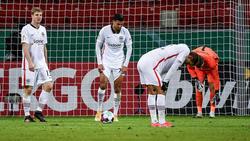Eintracht Frankfurt geht im DFB-Pokal bei Bayer Leverkusen unter