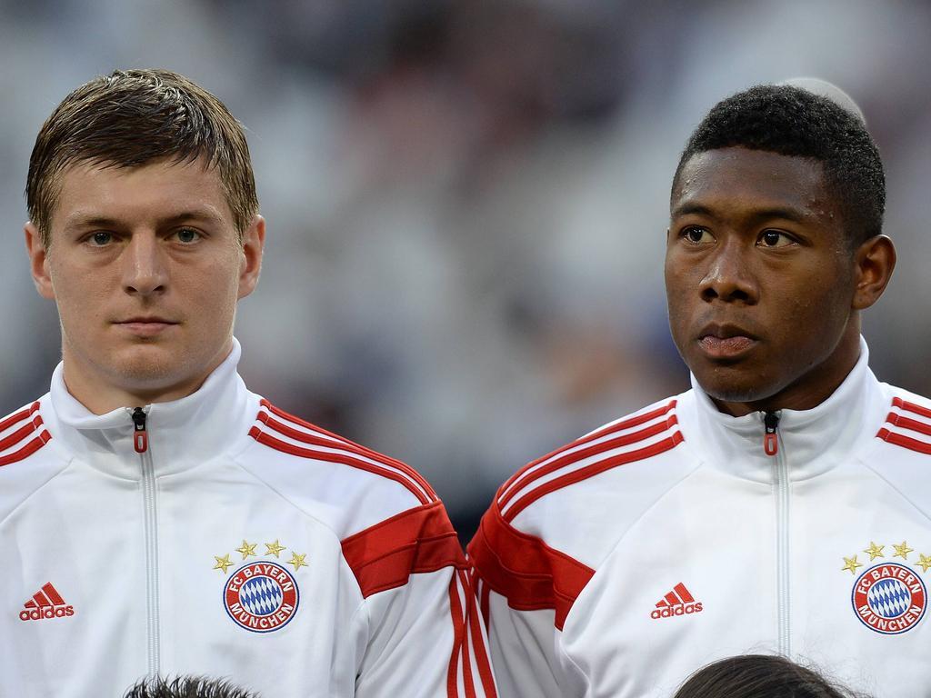 Toni Kroos und David Alaba könnten bei Real wiedervereint werden