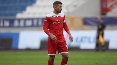Lukas Podolski reagierte verärgert