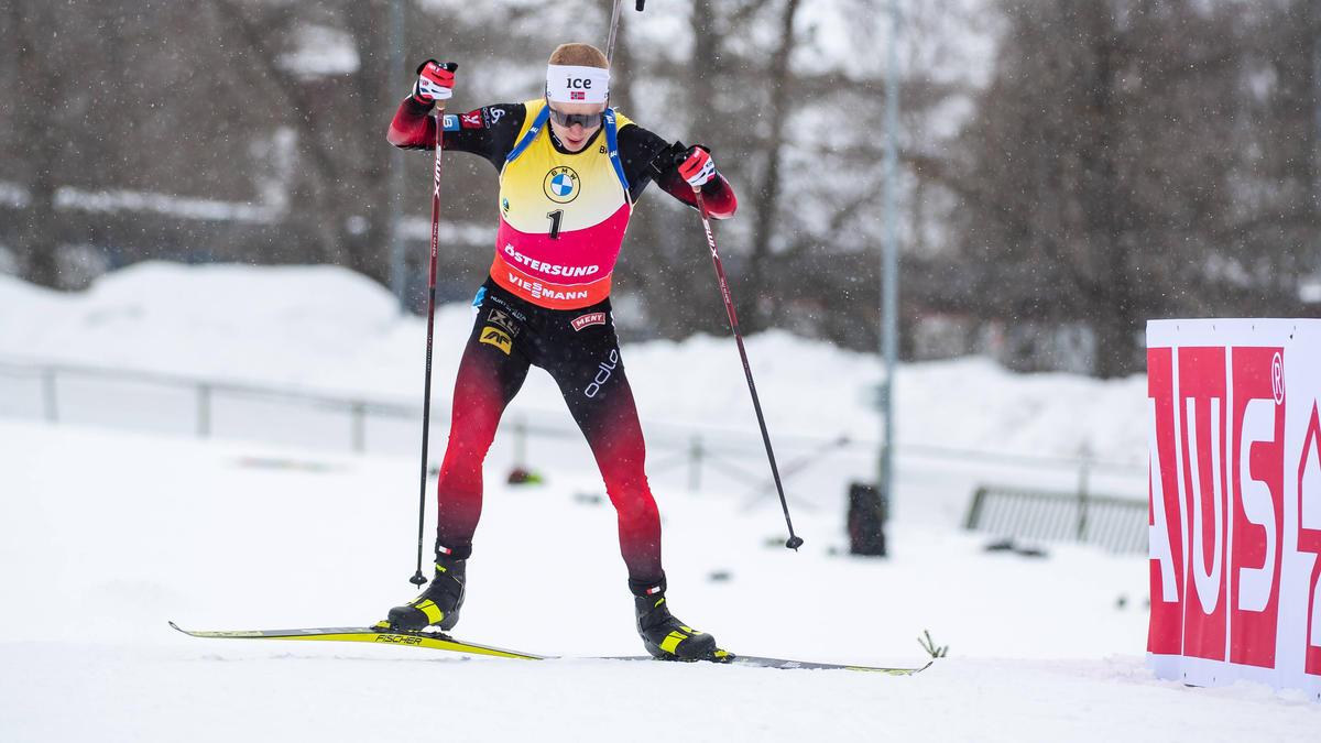 Johannes Thingnes Bö wurde Dritter in Östersund