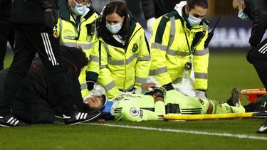 Große Sorgen um Rui Patricio beim Spiel gegen den FC Liverpool