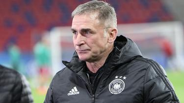 Trainer Stefan Kuntz ist der Baumeister des U21-Erfolgs