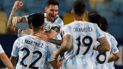 Lionel Messi mit Argentinien im Halbfinale der Copa América