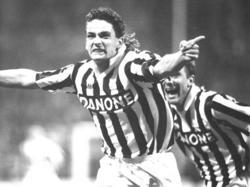 Roberto Baggio durfte mit Juventus einst oft jubeln