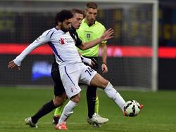 Salah trifft gegen Inter