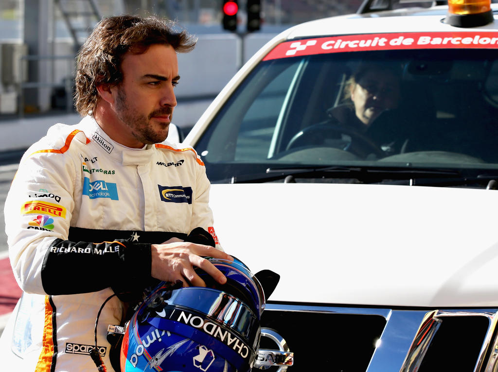 Fernando Alonso und McLaren können nicht zufrieden sein