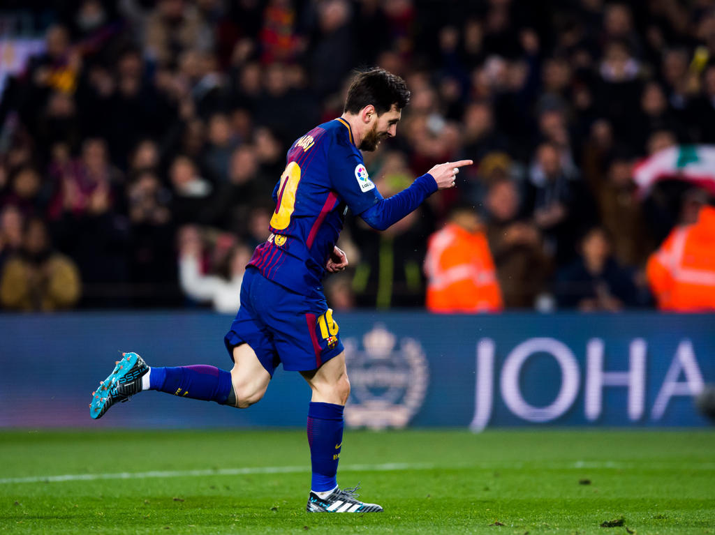 Lionel Messi war gegen Girona gleich doppelt erfolgreich