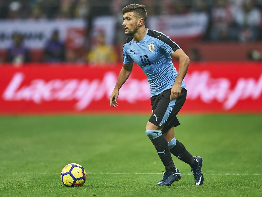 Sieht Uruguay nicht als Favorit auf den Gruppensieg: Giorgian de Arrascaeta