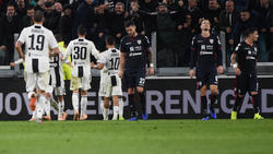Juventus steht in der Serie weiter an der Tabellenspitze