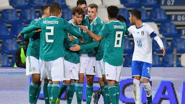 Deutschlands U21 gewinnt Härtetest in Italien dank Luca Waldschmidt