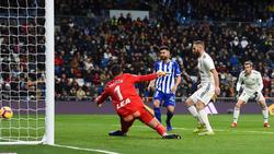 Benzema besorgte das 1:0 für Real Madrid