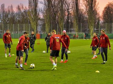 Das Nationalteam bereitet sich auf die Partie gegen Polen vor