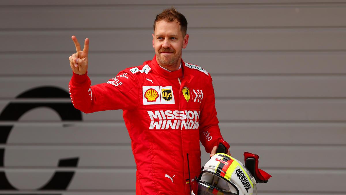 Sebastian Vettel ist mit seinem Ferrari nicht grundsätzlich unzufrieden