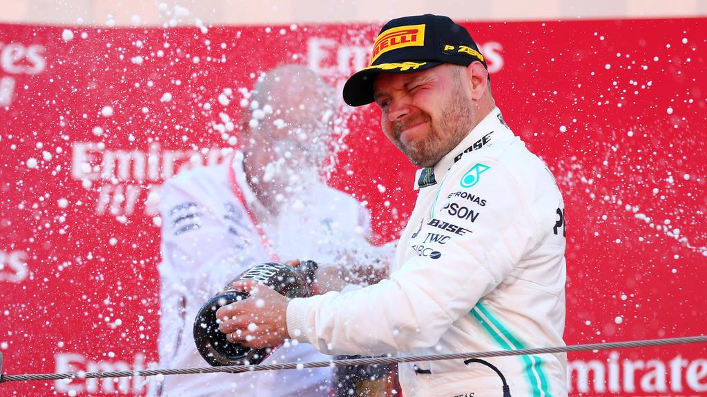 Wie lange kann Valtteri Bottas mit Lewis Hamilton mithalten?