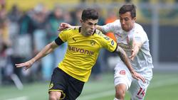 Christian Pulisic erzielte den Treffer zum 1:0 für den BVB
