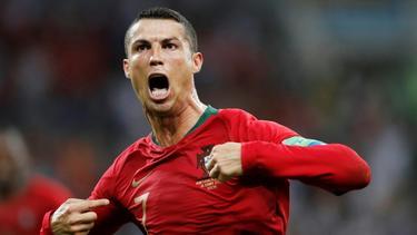 Ronaldo erzielte gegen die Schweiz einen Dreierpack