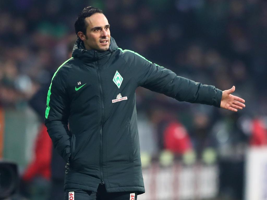 Letzte Chance für Werder-Coach Alexander Nouri