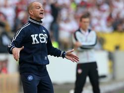 Debüt als KSC-Coach