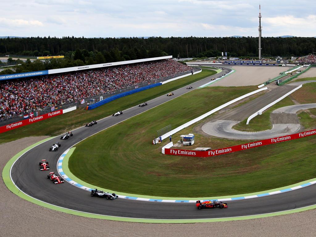 Der Hockenheimring bildet die 11. Station des F1-Jahres 2018