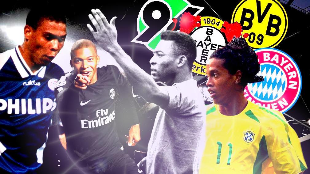 Ronaldinho zum BVB, Maradona zum HSV: Diese Welt-Stars wechselten fast in die Bundesliga