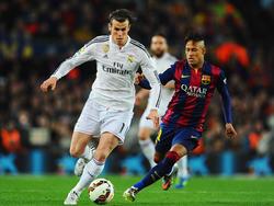 Bale y Neymar se vieron las caras en varios Madrid-Barça.