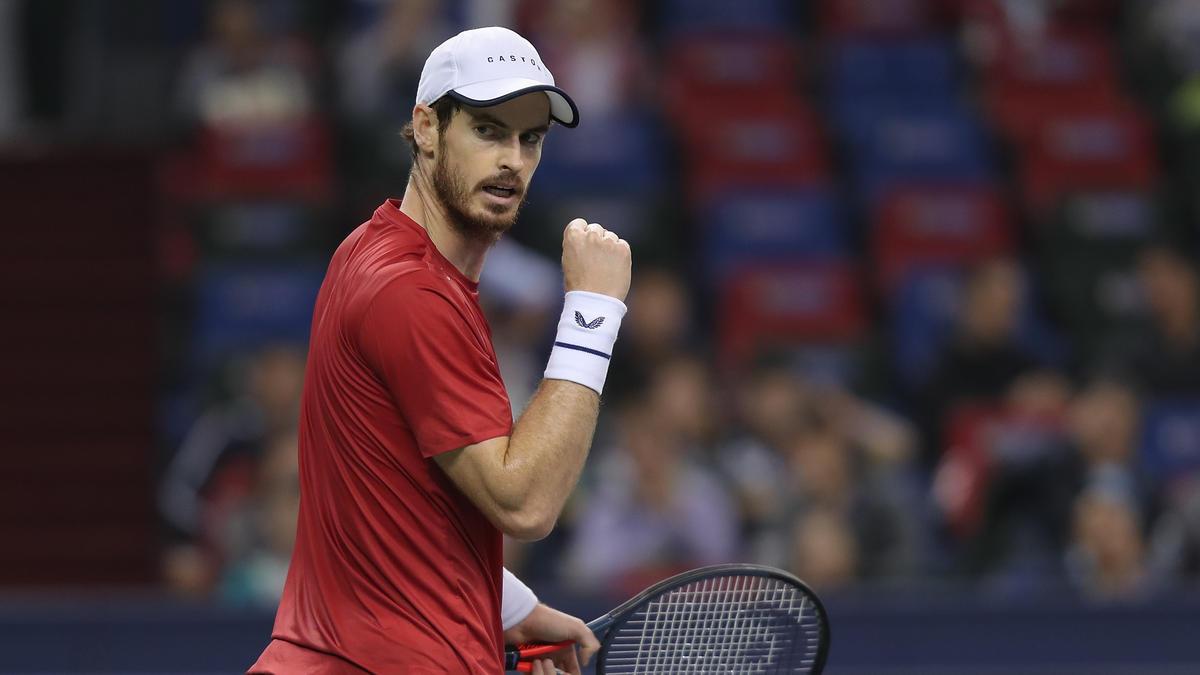 Andy Murray steht in Antwerpen im Finale