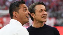 Freunde: Ante Covic (l) und Niko Kovac