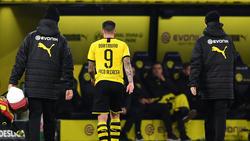 Borussia Dortmund kann sich auf Paco Alcácer nicht immer verlassen