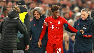 Kingsley Coman fehlt dem FC Bayern wohl bis zum Jahresende