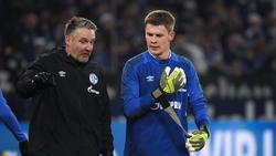 Alexander Nübel (r.) ist nicht länger Kapitän des FC Schalke 04