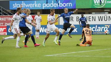 Der SC Paderborn glich spät gegen den 1. FC Nürnberg aus