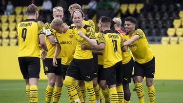 Der BVB setzte sich gegen Preußen Münster durch