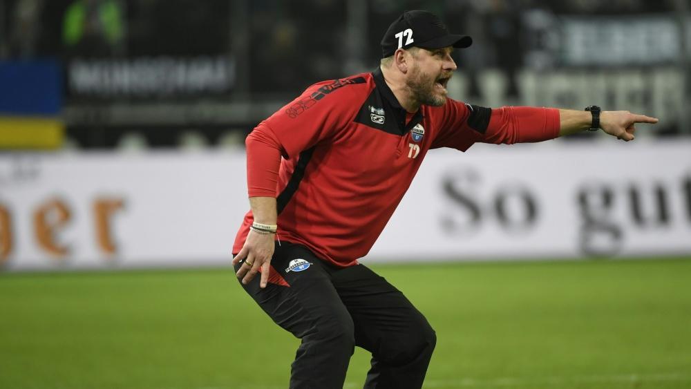 Steffen Baumgart ist am Spielfeldrand gerne laut