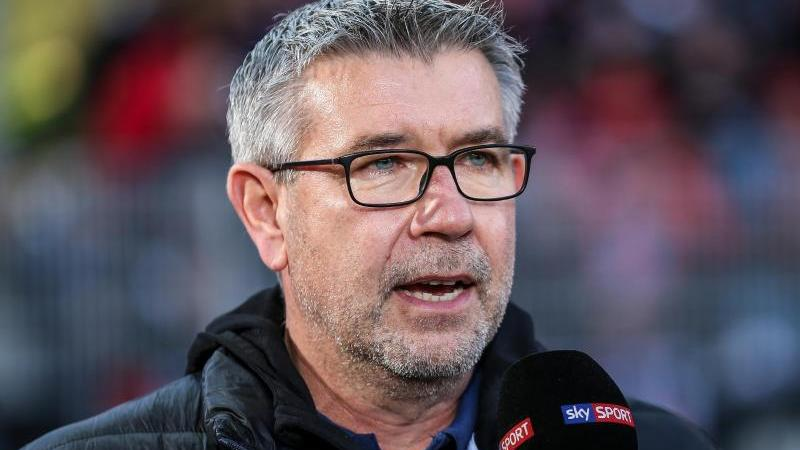 Trainer Urs Fischer steht mit dem 1. FCUnion Berlin derzeit gut da in der Bundesliga