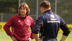 Gerry Ehrmann (l.) bildete auch Tim Wiese beim 1. FC Kaiserslautern aus