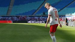 Timo Werner und RB Leipzig mussten sich mit einem Remis zufrieden geben