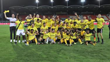 El Young Boys celebra el triunfo en la liga helvética.