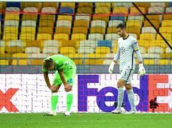 Für den VfL Wolfsburg hieß es im EL-Achtelfinale: Endstation