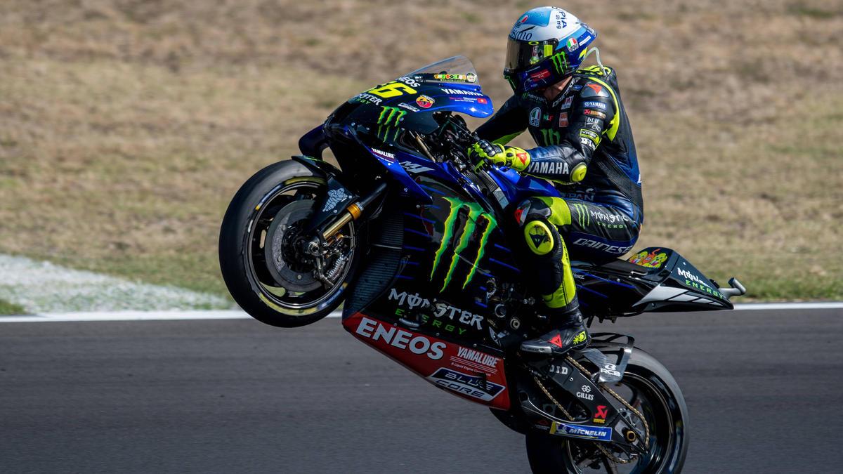 Motogp Ist Valentino Rossi Ein Kandidat Fur Den Sieg In Barcelona
