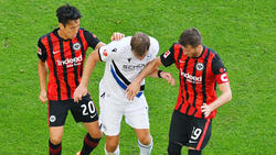 Bleiben Makoto Hasebe (l.) und David Abraham länger bei Eintracht Frankfurt?