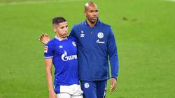 Naldo (r.) ist seit einigen Wochen Co-Trainer beim FC Schalke 04