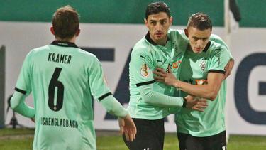 Gladbach im DFB-Pokal problemlos weiter