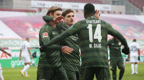 Der VfB Stuttgart hat sich beim FC Augsburg deutlich durchgesetzt