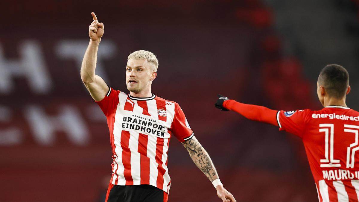 Philipp Max traf für die PSV Eindhoven